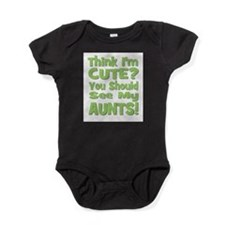 Unique Love auntie Baby Bodysuit