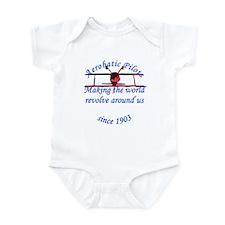Making the world Revolve arou Infant Bodysuit