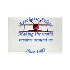 Making the world Revolve arou Rectangle Magnet (10