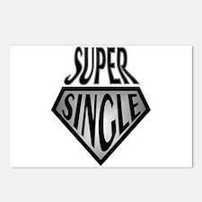 Super Hero Super Single Postcards (Package of 8)