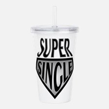 Super Hero Super Singl Acrylic Double-wall Tumbler