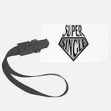 Super Hero Super Single Luggage Tag