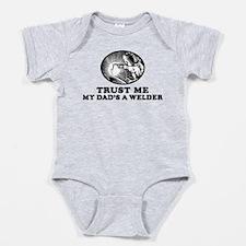 Cute Welder Baby Bodysuit