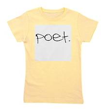 Cute Poet Girl's Tee
