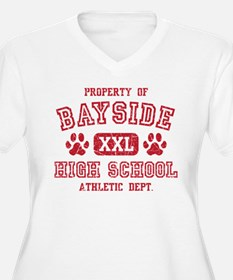 Property Of Bayside HS Athletic Dept. Plus Size T-