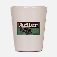 Vintage poster - Adler Typewriters Shot Glass