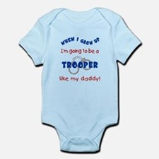 Cute Police officer state Infant Bodysuit