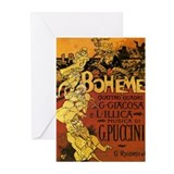 La boheme Greeting Cards (20 Pack)