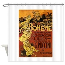 opera art Shower Curtain