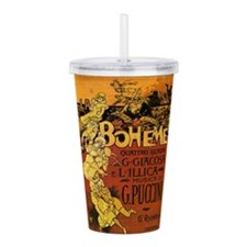 opera art Acrylic Double-wall Tumbler