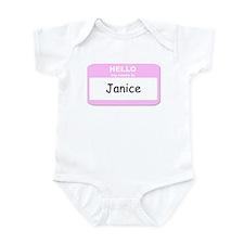 My Name is Janice Infant Bodysuit