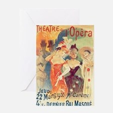 opera art Greeting Cards