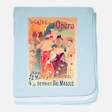 opera art baby blanket
