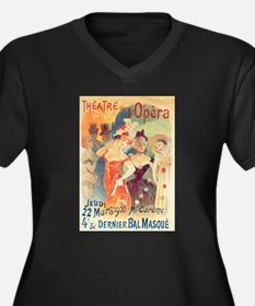opera art Plus Size T-Shirt