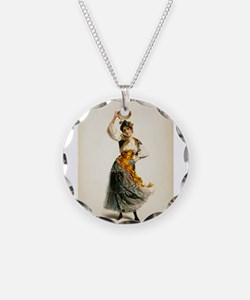 opera art Necklace
