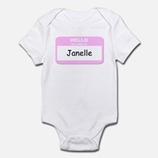 My Name is Janelle Infant Bodysuit