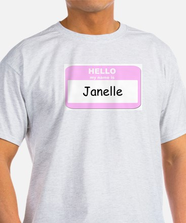 My Name is Janelle T-Shirt