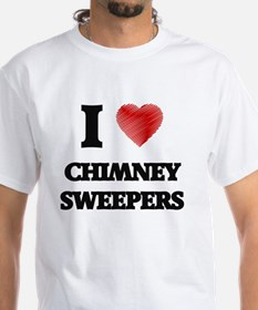 I love Chimney Sweepers (Heart made from w T-Shirt