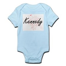 Kennedy surname artistic design with But Body Suit