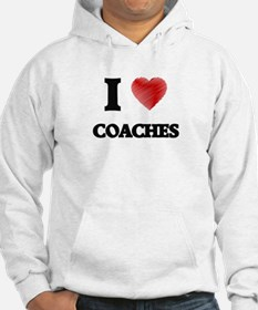 I love Coaches (Heart made from Hoodie