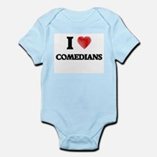 I love Comedians (Heart made from words) Body Suit