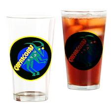 Cute Capricorn Drinking Glass