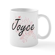 Joyce surname artistic design with Butterflie Mugs