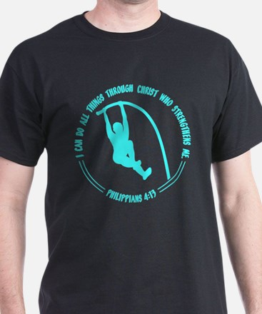 POLE VAULT, PHIL 4:13 T-Shirt