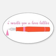 Love Letter Decal