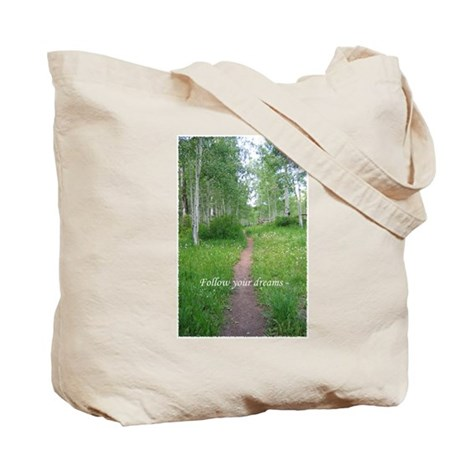 Follow Your Dreams Journal Tote Bag