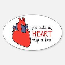 Make My Heart Skip Decal