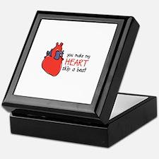 Make My Heart Skip Keepsake Box