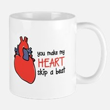Make My Heart Skip Mugs