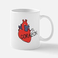 El Corazon Mugs
