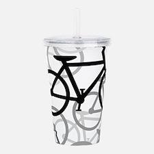 Bikes Acrylic Double-wall Tumbler