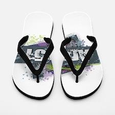 Area 51 Design Flip Flops