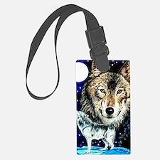 Cool Moose illustration Luggage Tag