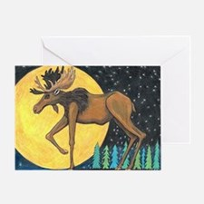 Unique Wolf woods Greeting Card