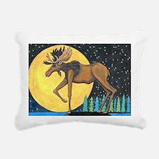 Cute Wolf woods Rectangular Canvas Pillow
