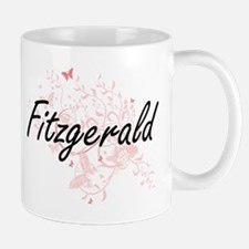 Fitzgerald surname artistic design with Butte Mugs