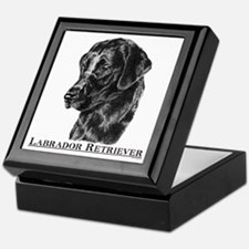 Labrador Retriever Dog Breed Keepsake Box