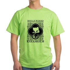 Bollywood Infamous. Green T-Shirt