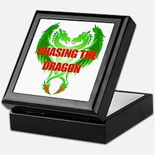 Chasing The Dragon Keepsake Box