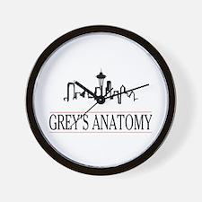 Cute Greys Wall Clock