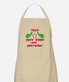 1949 This star was born Apron