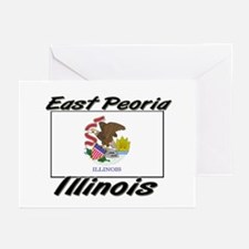 East Peoria Illinois Greeting Cards (Pk of 10)