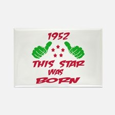 1952 This star was born Rectangle Magnet