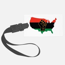 African American Luggage Tag