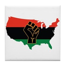 African American Tile Coaster