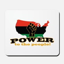 Power To People Mousepad